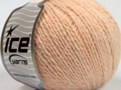 Lot of 8 Skeins Ice Yarns ANGORA COMFORT LIGHT Hand Knitting Yarn Powder Pink