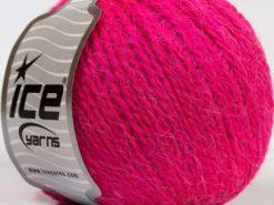 Lot of 8 Skeins Ice Yarns ANGORA COMFORT LIGHT Hand Knitting Yarn Fuchsia