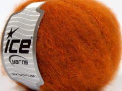 Lot of 8 Skeins Ice Yarns SALE WINTER (10% Wool) Hand Knitting Yarn Orange
