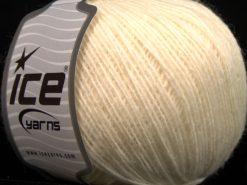 Lot of 8 Skeins Ice Yarns PERU ALPACA FINE (25% Alpaca 50% Merino Wool) Yarn Light Cream