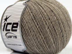 Lot of 8 Skeins Ice Yarns PERU ALPACA FINE (25% Alpaca 50% Merino Wool) Yarn Light Camel