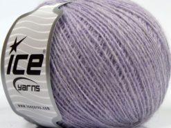 Lot of 8 Skeins Ice Yarns PERU ALPACA FINE (25% Alpaca 50% Merino Wool) Yarn Light Lilac