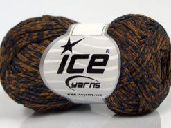 Lot of 8 Skeins Ice Yarns GRAPHITE COTTON (72% Cotton) Yarn Bronze Navy