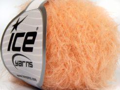 Lot of 8 Skeins Ice Yarns SALE EYELASH Hand Knitting Yarn Light Salmon