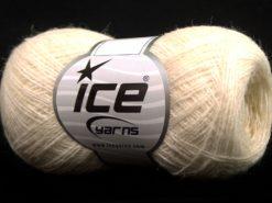 Lot of 10 Skeins Ice Yarns PERU ALPACA SUPERFINE (25% Alpaca 50% Merino Wool) Yarn Cream