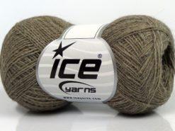 Lot of 10 Skeins Ice Yarns PERU ALPACA SUPERFINE (25% Alpaca 50% Merino Wool) Yarn Camel