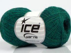Lot of 10 Skeins Ice Yarns PERU ALPACA SUPERFINE (25% Alpaca 50% Merino Wool) Yarn Emerald Green
