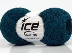 Lot of 10 Skeins Ice Yarns PERU ALPACA SUPERFINE (25% Alpaca 50% Merino Wool) Yarn Teal