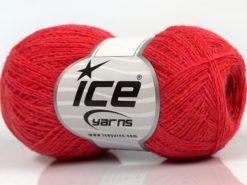 Lot of 10 Skeins Ice Yarns PERU ALPACA SUPERFINE (25% Alpaca 50% Merino Wool) Yarn Dark Salmon