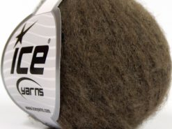 Lot of 10 Skeins Ice Yarns SALE LUXURY-PREMIUM (12% Alpaca 14% Merino Wool) Yarn Brown