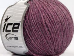 Lot of 8 Skeins Ice Yarns PERU ALPACA LIGHT (25% Alpaca 50% Merino Wool) Yarn Lilac