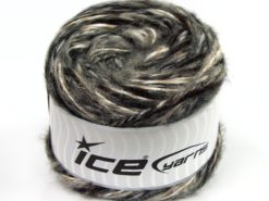 Lot of 2 x 150gr Skeins Ice Yarns CAKES ALPACA COLORS (20% Alpaca 50% Wool) Yarn Black Grey Camel Cream