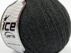 Lot of 8 Skeins Ice Yarns MASTER ALPACA FINE (25% Alpaca 25% Merino Wool) Yarn Dark Grey