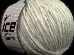 Lot of 8 Skeins Ice Yarns ETNO ALPACA (25% Alpaca 50% Merino Wool) Yarn Light Grey