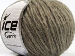 Lot of 8 Skeins Ice Yarns ETNO ALPACA (25% Alpaca 50% Merino Wool) Yarn Light Camel