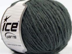 Lot of 8 Skeins Ice Yarns ETNO ALPACA (25% Alpaca 50% Merino Wool) Yarn Greenish Grey