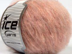 Lot of 8 Skeins Ice Yarns KAN MOHAIR LIGHT (40% Wool) Hand Knitting Yarn Pink