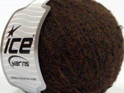 Lot of 8 Skeins Ice Yarns ALPACA BOUCLE SUPERFINE (15% Alpaca 12% Wool) Yarn Dark Brown