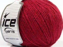 Lot of 8 Skeins Ice Yarns PERU ALPACA FINE (25% Alpaca 50% Merino Wool) Yarn Fuchsia