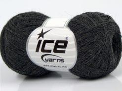 Lot of 10 Skeins Ice Yarns PERU ALPACA SUPERFINE (25% Alpaca 50% Merino Wool) Yarn Anthracite Black
