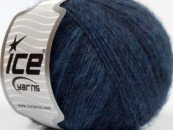 Lot of 8 Skeins Ice Yarns ALPACA DELUXE (20% Alpaca 50% Wool) Yarn Navy Shades