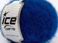 Lot of 8 Skeins Ice Yarns KID MOHAIR ALPACA LIGHT (41% Alpaca Superfine 41% Kid Mohair) Yarn Saxe Blue