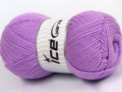 Lot of 4 x 100gr Skeins Ice Yarns SOFTLY BABY FINE Hand Knitting Yarn Lilac