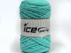 Lot of 2 x 200gr Skeins Ice Yarns NATURAL COTTON CHUNKY (100% Cotton) Yarn Mint Green