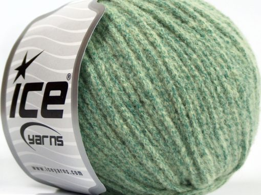 Lot of 8 Skeins Ice Yarns BABY ALPACA MERINO (30% Baby Alpaca 31% Extrafine Merino Wool) Yarn Mint Green
