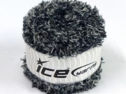 Lot of 2 x 150gr Skeins Ice Yarns SALE CAKES YARN (100% MicroFiber) Yarn Black White