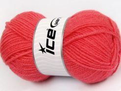 Lot of 4 x 100gr Skeins Ice Yarns SALE WINTER (50% Wool) Yarn Candy Pink