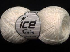 Lot of 8 Skeins Ice Yarns COTTON SUPERFINE (100% Cotton) Yarn Ecru