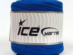 600 gr ICE YARNS UPCYCLED FABRIC 600 (95% Cotton 5% Elastan) Yarn Saxe Blue