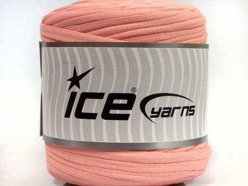 600 gr ICE YARNS UPCYCLED FABRIC 600 (95% Cotton 5% Elastan) Yarn Powder Pink