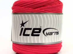 600 gr ICE YARNS UPCYCLED FABRIC 600 (95% Cotton 5% Elastan) Yarn Candy Pink